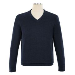 PULLOVERS - Classic Comfort V Neck Sweater