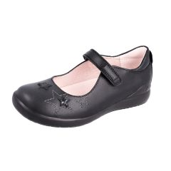 SHOES - Girl's Leather Junior Mary-Jane with Stars