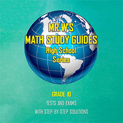 SCHOOL SUPPLIES - Secondary School Tests and Exams Booklet - Grade 10