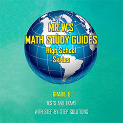 SCHOOL SUPPLIES - Secondary School Tests and Exams  Booklet - Grade 9