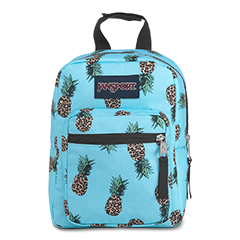 LUNCH PRODUCTS - 'BIG BREAK' - Jansport Lunch Bag in Leopard Pineapples